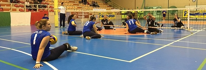 Nazionale Italiana Sitting Volley a Porto Tolle 2016